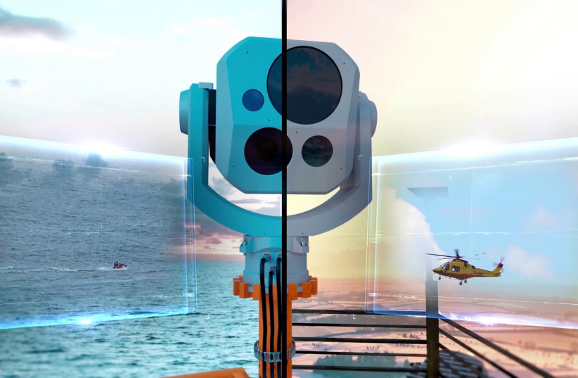 IAI introduces a new electro-optical long-range and high image resolution surveillance system (photo credit: IAI)