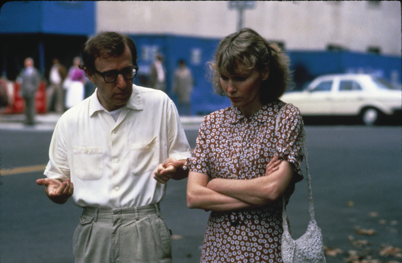 WOODY ALLEN and Mia Farrow appear in the 1986 film 'Hannah and Her Sisters.' (photo credit: YES/ORION PICTURES INTERNATIONAL)