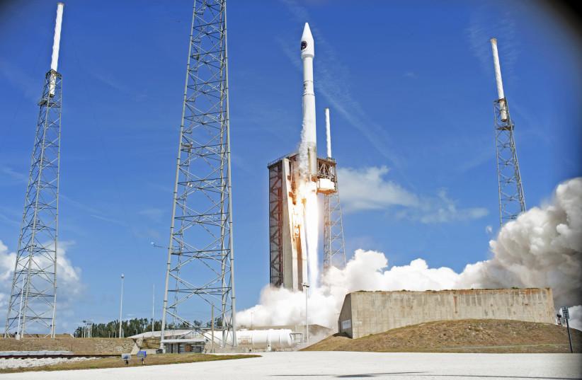 Space launch (illustrative) (photo credit: NASA)