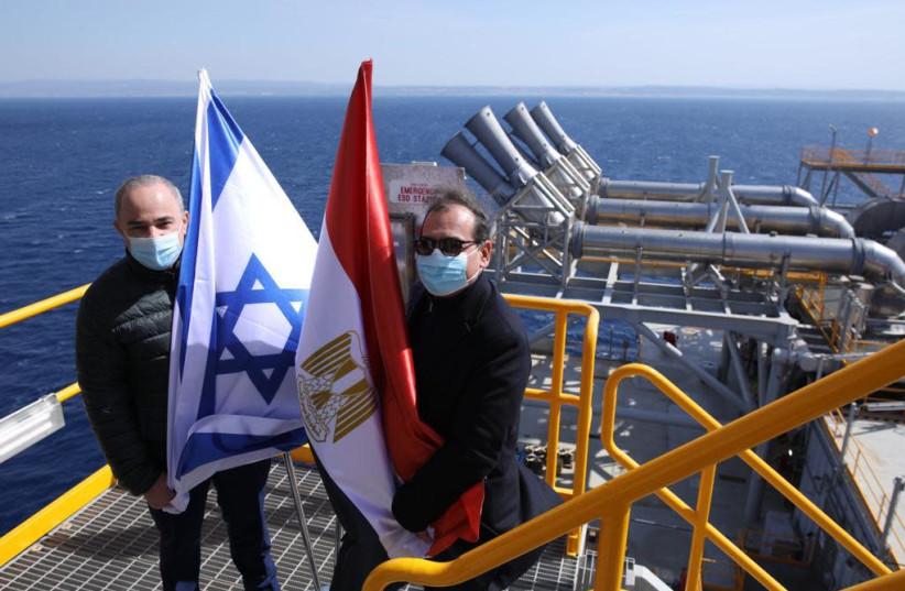 Energy Minister Yuval Steinitz (L) and Energy Minister Yuval Steinitz (R) (photo credit: GPO)
