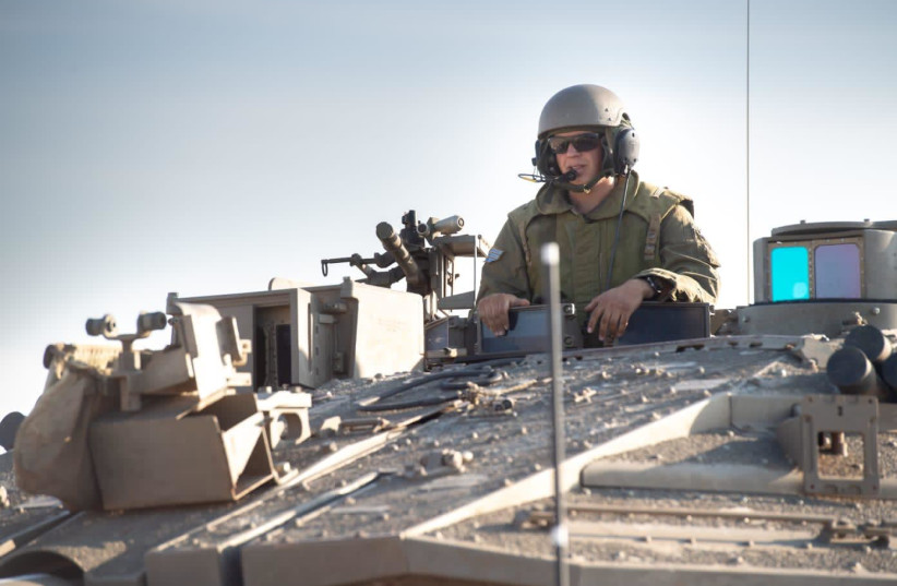 "The 401st ""Iron Tracks"" Brigade (photo credit: IDF SPOKESPERSON'S OFFICE)"