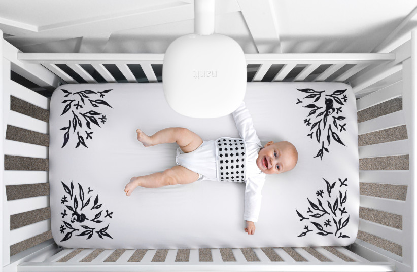 Nanit's smart baby monitor system (photo credit: Courtesy)