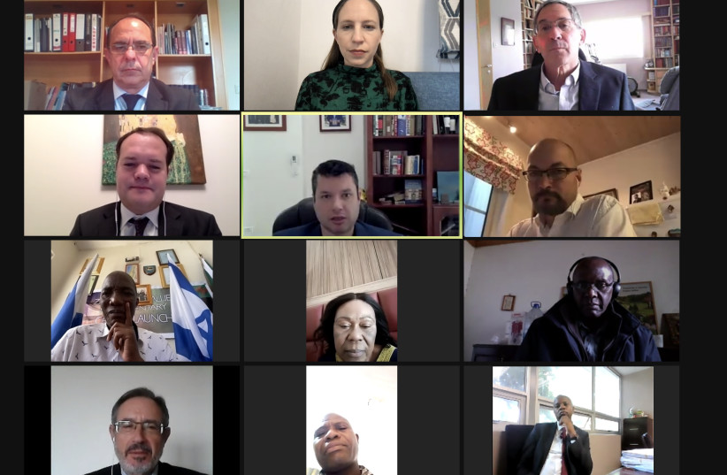 Israel Allies Caucus representatives from 10 African countries gather virtually for educational webinar (photo credit: ISRAEL ALLIES FOUNDATION)
