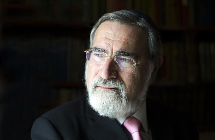 Rabbi Lord Jonathan Sacksץ (photo credit: BLAKE EZRA PHOTOGRAPHY)