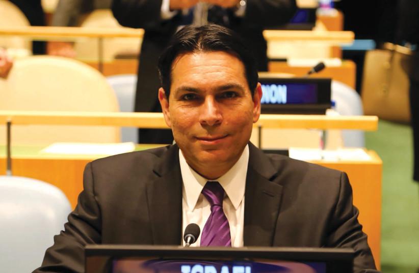Ambassador Danny Danon at the United Nations (photo credit: Courtesy)