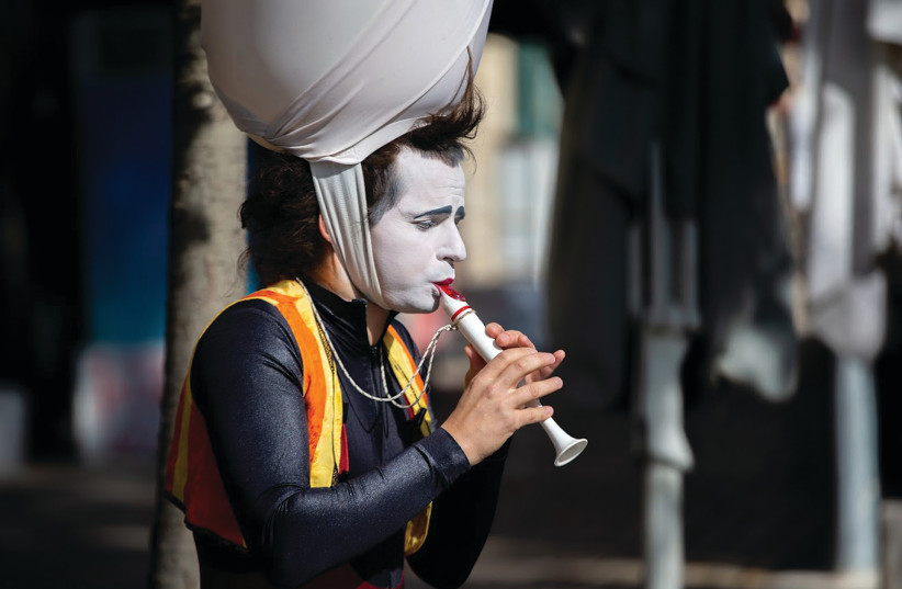 THE MUNICIPALITY is keen for Jerusalemites to get out and about over the Purim weekend. (photo credit: DOR PAZUELO)