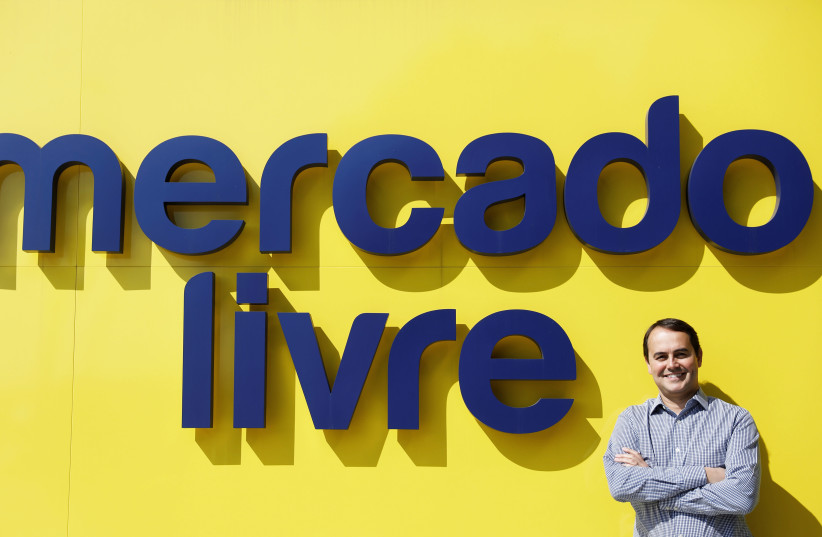 Chief Operating Officer of MercadoLibre poses at company's headquarters in Sao Paulo (photo credit: REUTERS/NACHO DOCE)