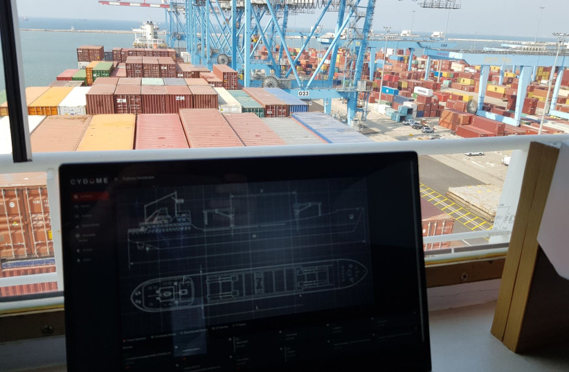 Cydome's technology aims to protect vessels from malicious actors. (photo credit: Courtesy)