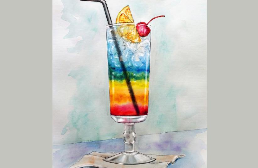Cocktail (Illustrative) (photo credit: PIXABAY)