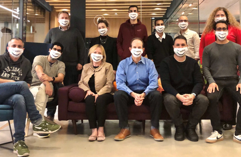 MyHeritage's management team (photo credit: Courtesy)