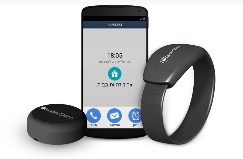 'A bracelet of freedom' says CEO in charge of COVID electronic monitoring (photo credit: SUPERCOM)