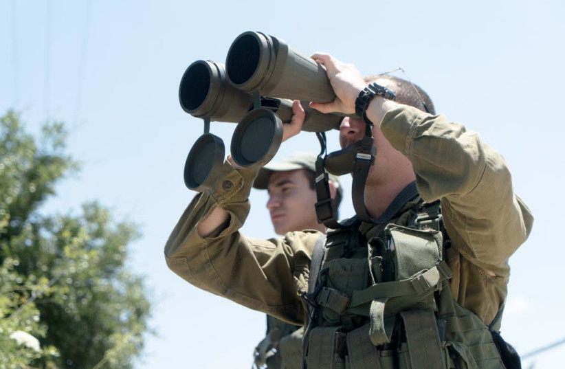 IDF gets ready for Hezbollah along the Israeli-Lebanese border (photo credit: IDF)