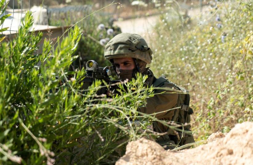 IDF gets ready for Hezbollah along the Israeli-Lebanese border (photo credit: IDF)