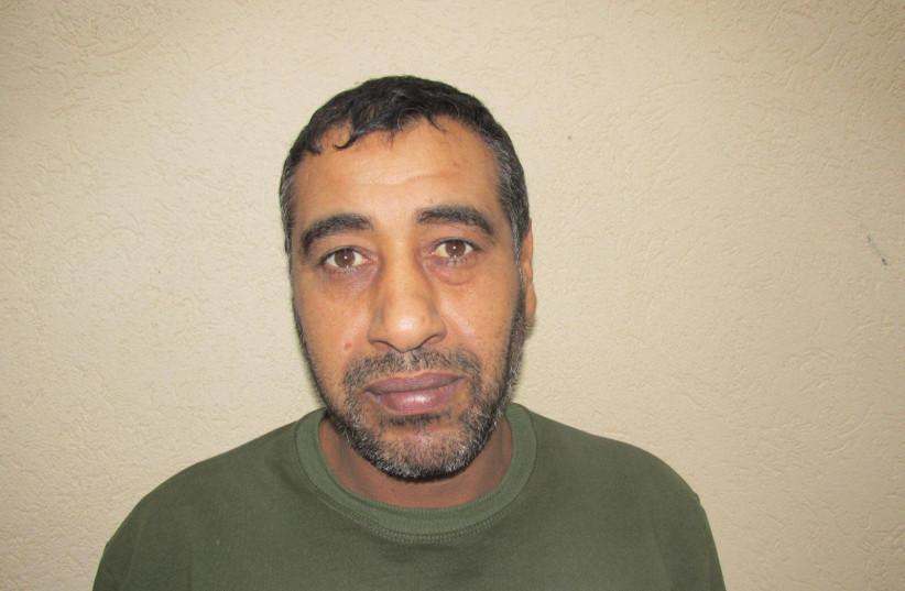 Mohammad Abu Adra, 43, arrested by the Shin Bet, February 2021 (photo credit: SHIN BET)