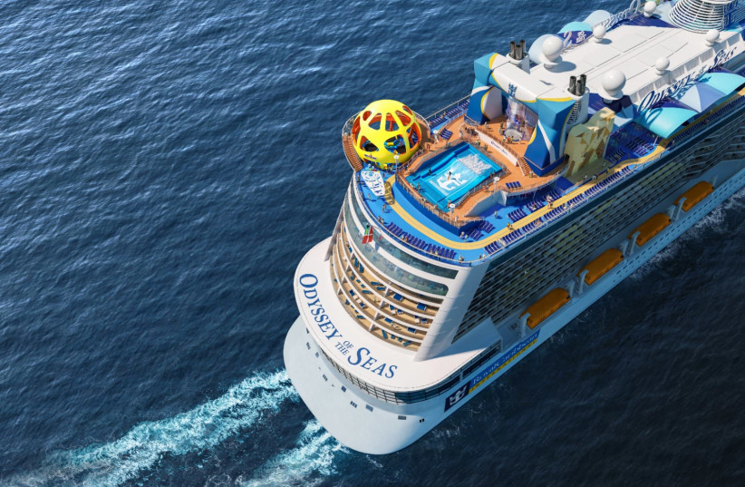 Royal Caribbean's new ship, which will sail from Israel for the first time in May. (photo credit: Courtesy)