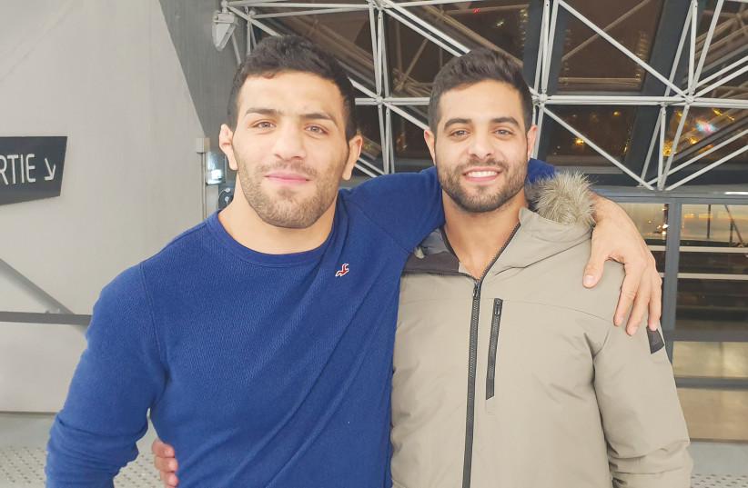 SAEID MOLLAEI and his Israeli counterpart Sagi Muki. (photo credit: Courtesy)