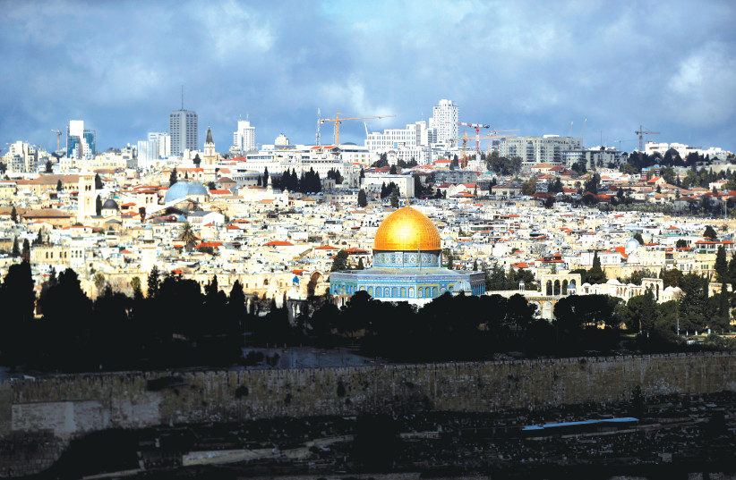 A GENERAL view of the Temple Mount in Jerusalem's Old City last year.  (photo credit: AMMAR AWAD / REUTERS)