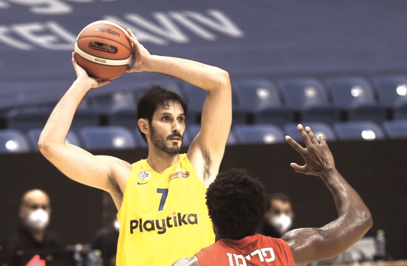 AFTER AN extended absence, Omri Casspi is once again healthy and will be back in Maccabi Tel Aviv's lineup for a pair of key Euroleague games this week. (photo credit: DOV HALICKMAN PHOTOGRAPHY)