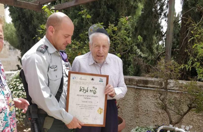 Mordechai Ansbacher (photo credit: ANSBACHER FAMILY)