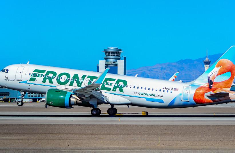 Frontier Airlines' Airbus A320neo Las Vegas - McCarran International (LAS / KLAS) USA - Nevada, January 7, 2018 (photo credit: WIKIMEDIA COMMONS/TOMÁS DEL CORO)