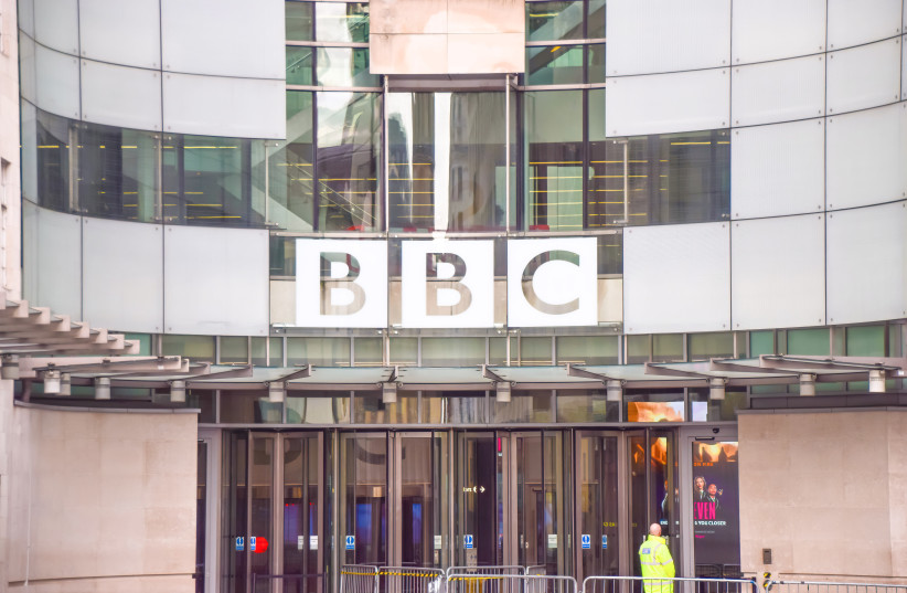 A general view of the Broadcasting House at BBC headquarters in Central London in 2017.  (photo credit: VUK VALCIC/SOPA IMAGES/LIGHTROCKET VIA GETTY IMAGES)
