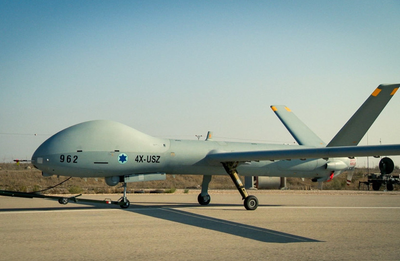 Hermes 900 Unmanned Aircraft Systems (photo credit: ELBIT)