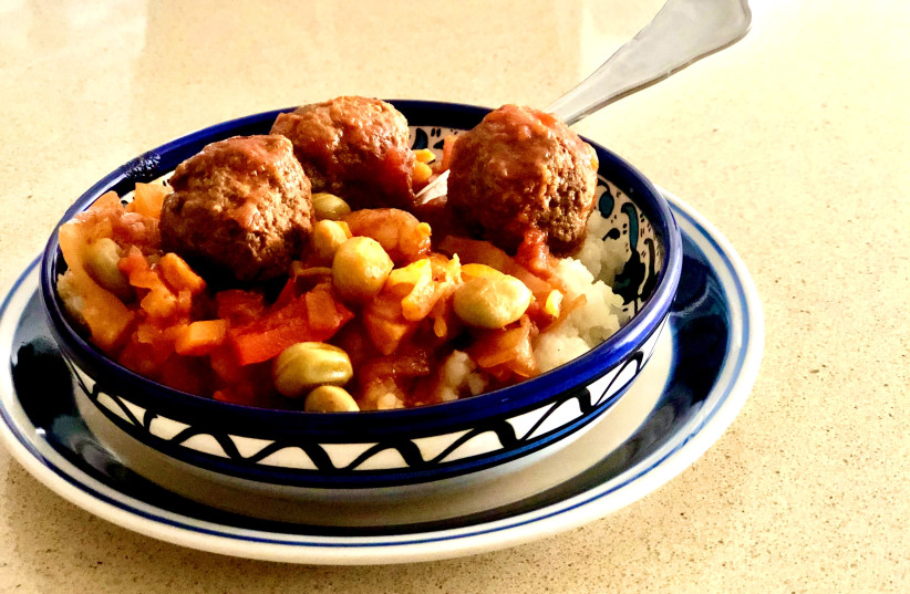 Meatballs (photo credit: PASCALE PERETZ-RUBIN AND DROR KATZ)