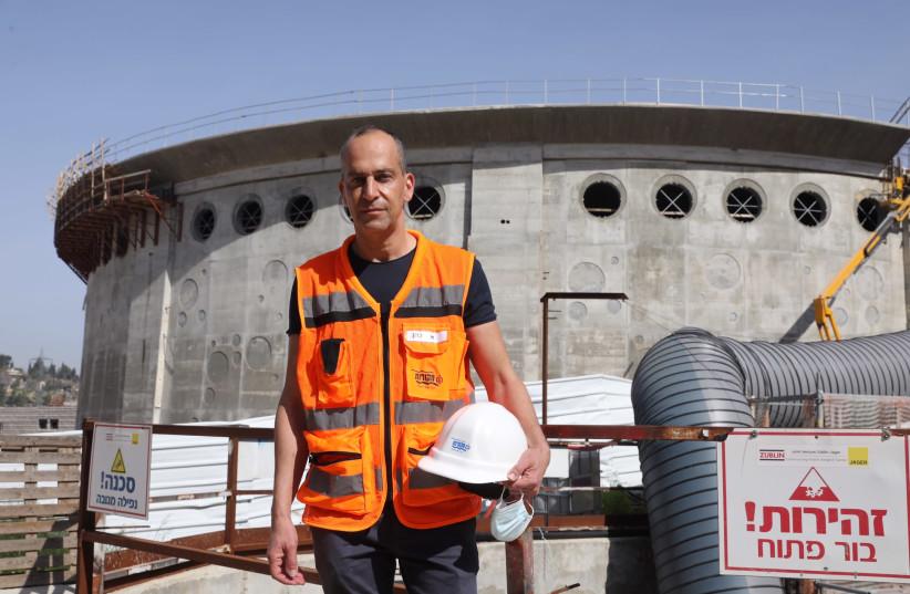 MEKOROT CEO Eli Cohen: Thinking 60 years ahead. (photo credit: MARC ISRAEL SELLEM)