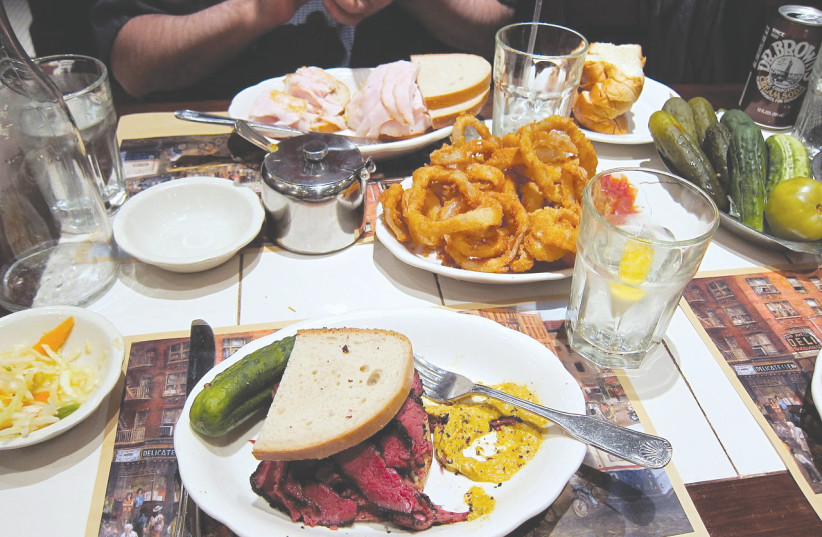 THE 2ND AVE DELI has been operating a kosher kitchen since 1954.  (photo credit: Courtesy)