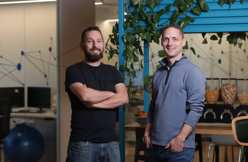 Webselenese founders Ran Greenberg and Ariel Hochstadt (photo credit: Courtesy)