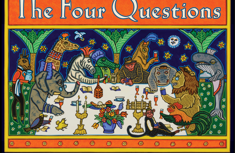 """""""The Four Questions"""" (photo credit: DEMCO MEDIA)"""