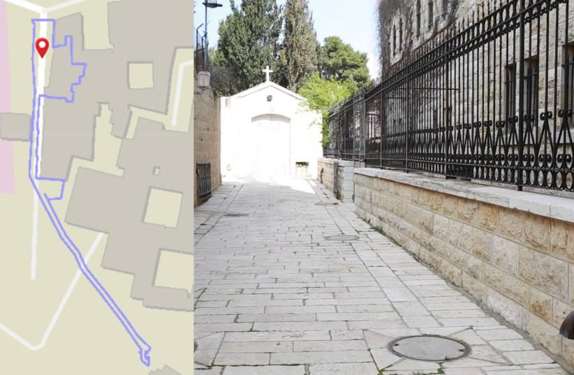 Secret church-built tunnel on Mount Zion concealed by Jerusalem Municipality (photo credit: REGAVIM)