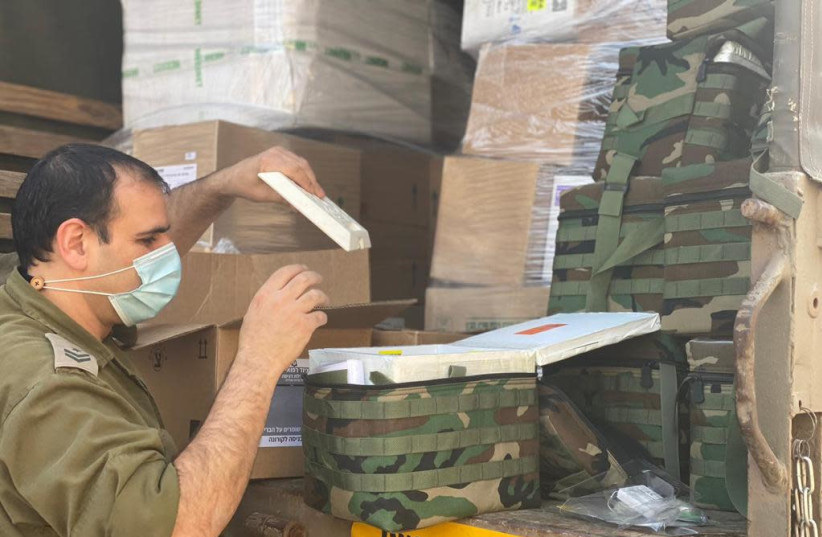 IDF humanitarian aid mission to Equatorial Guinea (photo credit: IDF SPOKESPERSON'S UNIT)