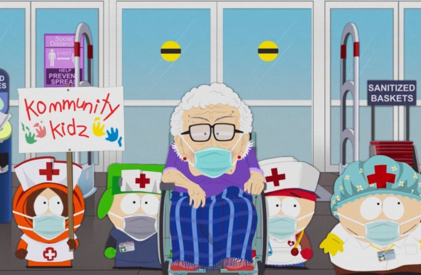 South Park latest episode: South ParQ Vaccination Special (photo credit: COURTESY SOUTH PARK STUDIOS - SCREENSHOT)