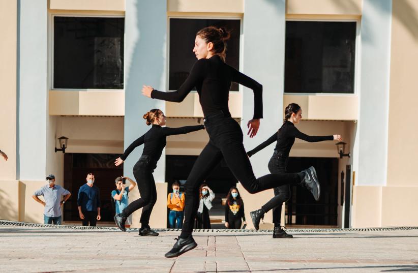Dancing Outdoors (photo credit: MAX DMITRIEV)
