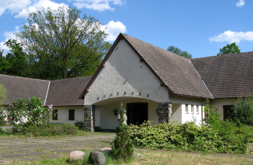 Joseph Goebbels' weekend house at Bogensee Lake, in the village of Lanke. (photo credit: OLAF TAUSCH/WIKIMEDIA COMMONS)
