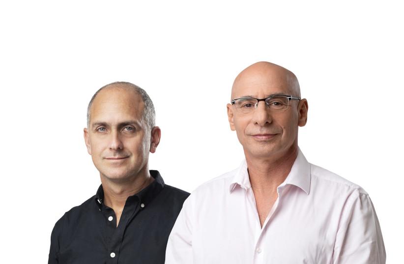 Chairman of the First Digital Bank CEO Gal Bar Dea and Chairman Shouky Oren (photo credit: YANAI YECHIEL)