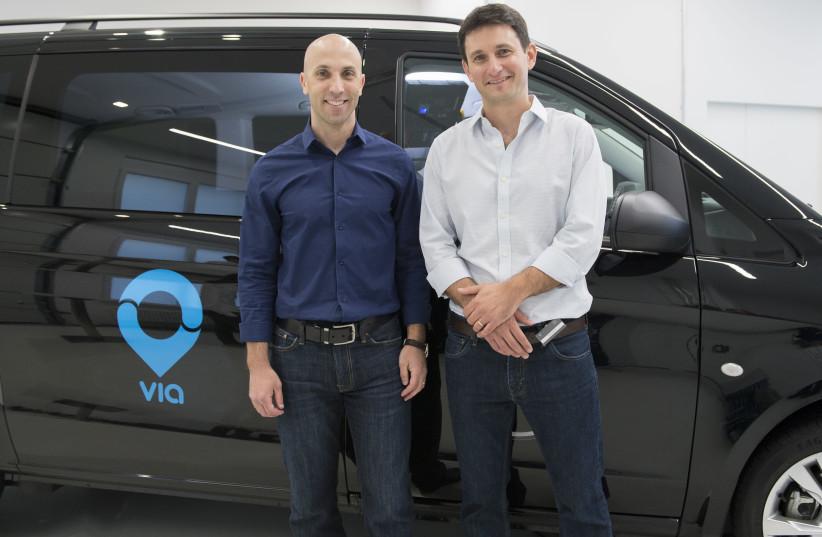 VIA founders Dr. Daniel Ramot and Dr. Oren Shoval (photo credit: VIA)