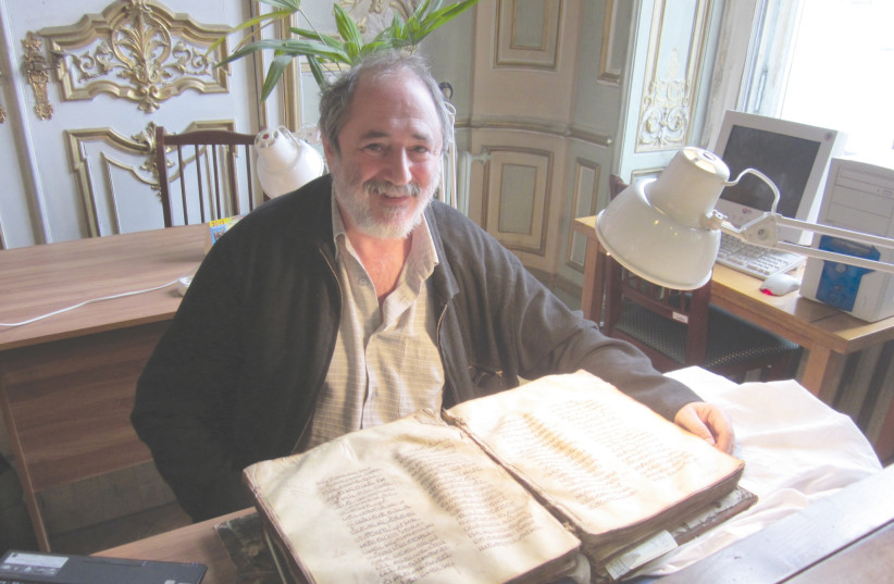 PROF. SHIMON IAKERSON: In my own eyes, [the Sarajevo Haggadah] is an example of how good people can work together against evil.  (photo credit: Courtesy)