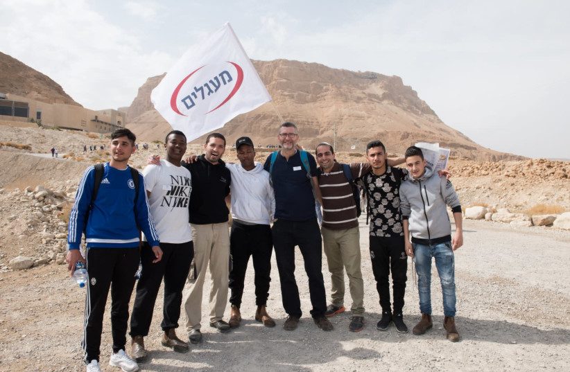 Ma'agalim youth engaged in activities. (photo credit: YAARIT YAIR)
