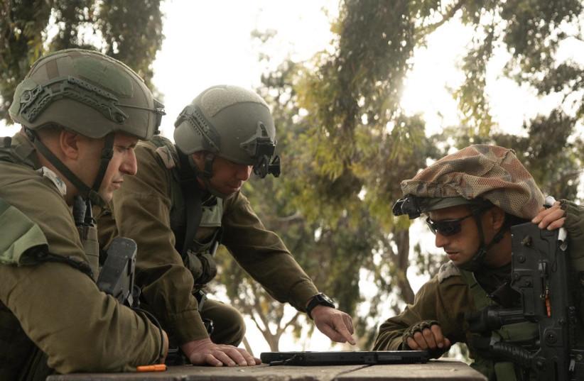 A wide-scale drill of the Gaza Regional Division, March 2021 (photo credit: IDF SPOKESPERSON'S UNIT)