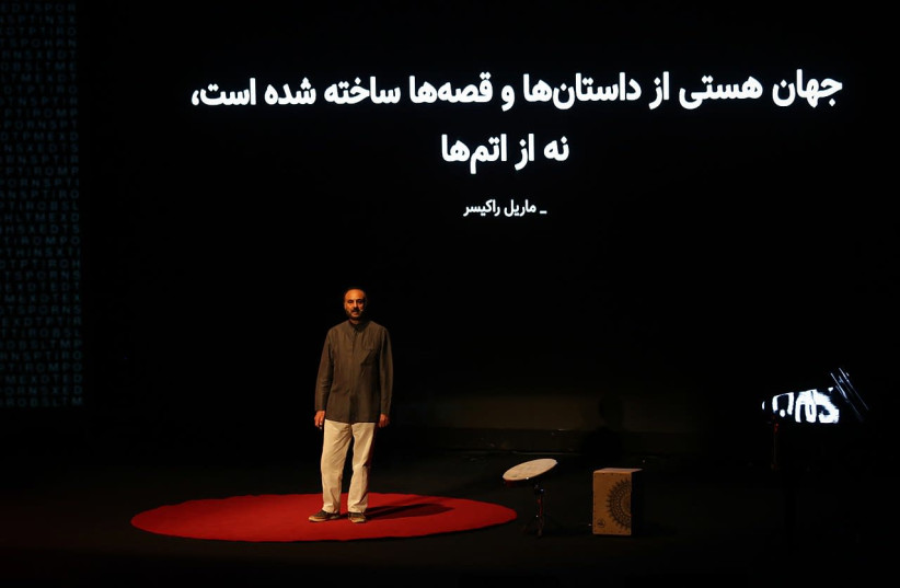 Mohammad Jafar Mahallati at TEDxTehran. (photo credit: Wikimedia Commons)