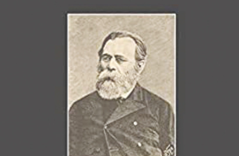 LEON PINSKER – his booklet, 'Auto-Emancipation: A Warning of a Russian Jews to His Brothers,' was published in 1882. (photo credit: WIKIPEDIA)