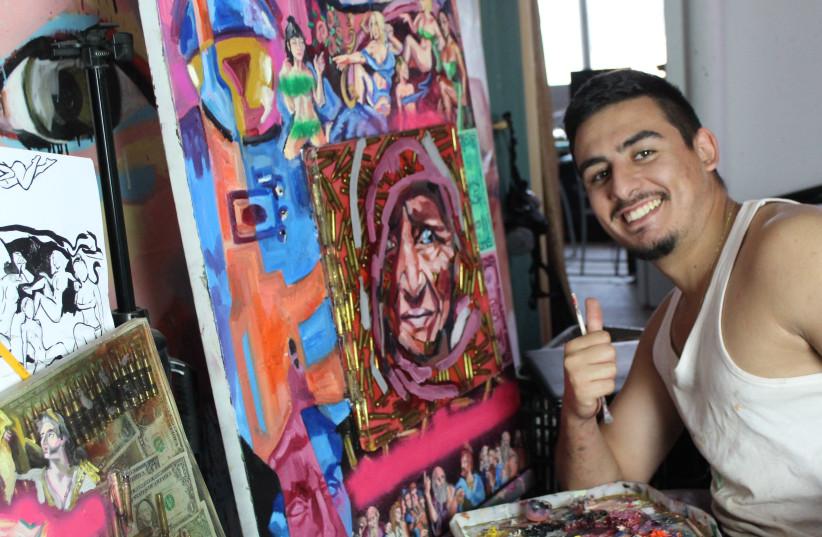 Ethan Amram, 22, from Normandy, France, to Jerusalem, 2009. (photo credit: ETHAN AMRAM)