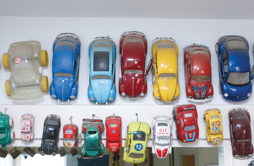 'You know, collectors are a little bit crazy.' (photo credit: MARC ISRAEL SELLEM/THE JERUSALEM POST)