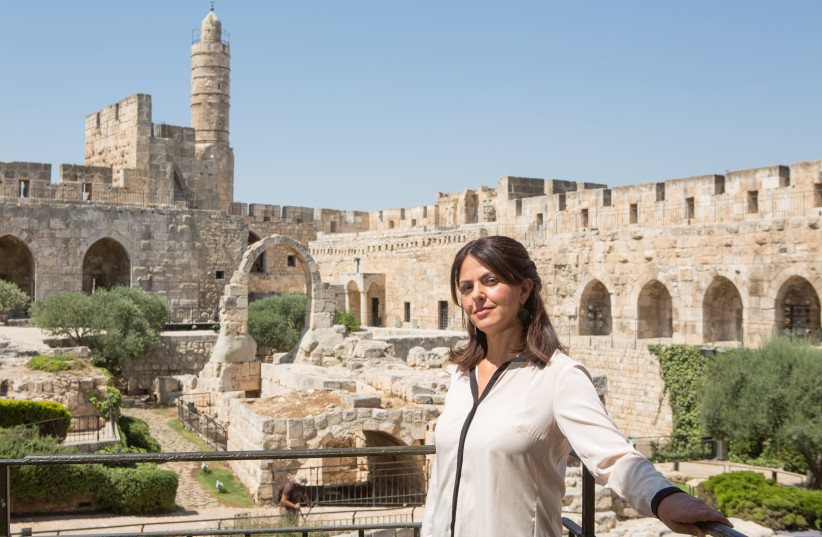 EILAT LIEBER, the director of the Tower of David Museum in Jerusalem.  (photo credit: MICHAL FATTAL)