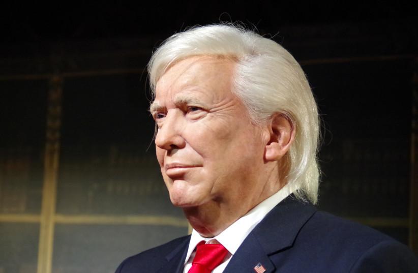 A wax figurine of former US President Donald Trump (photo credit: PIQSELS)