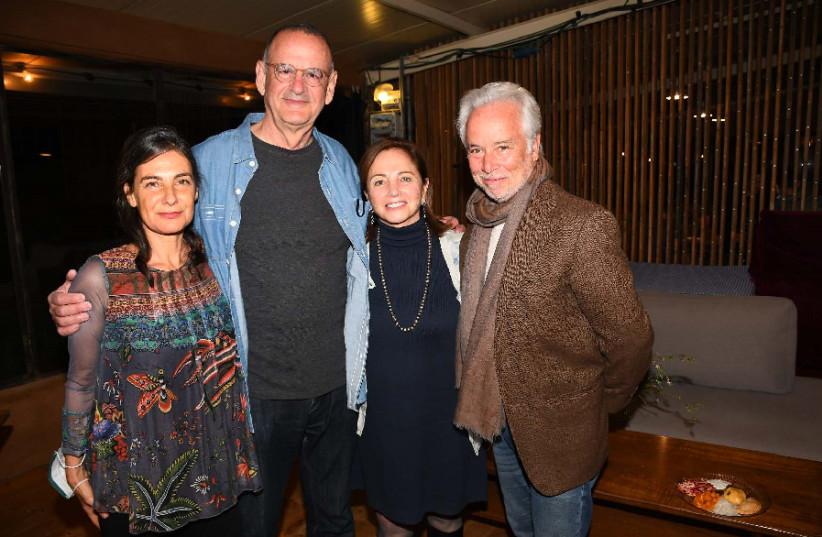 Noa Wertheim, David Kochavi, Judith Yovel-Recanati, and Mike Fliderbaum  (photo credit: AVIV HOFI)