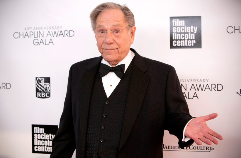 Actor George Segal attends the 40th Anniversary Chaplin Award Gala at Avery Fisher Hall at Lincoln Center for the Performing Arts in New York April 22, 2013. (photo credit: ANDREW KELLY / REUTERS)
