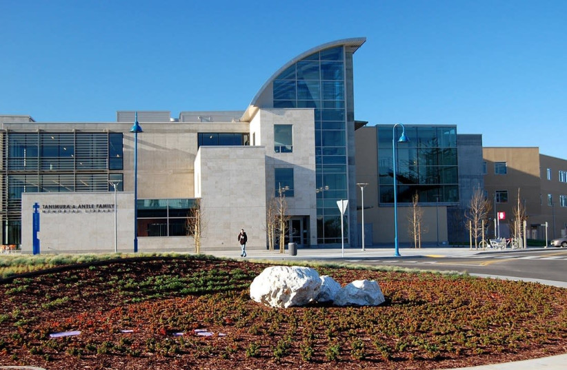 The Tanimura and Antle Family Memorial Library at Cal State University, Monterey Bay. (photo credit: Courtesy)